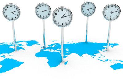 Die Welt hat 24 Zeitzonen.
