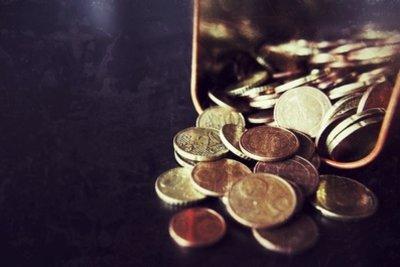 Kleingeld - manchmal wird es benötigt.