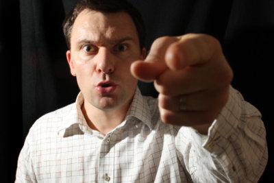 Selbstgespräche helfen, Wut zu verarbeiten.
