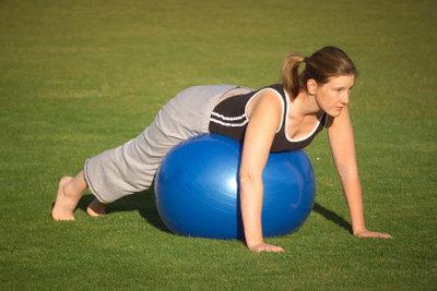 Mit Gymnastik können Sie abnehmen.