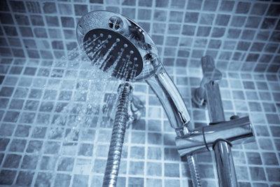 Eine optimale Lösung für den Duschkopf.