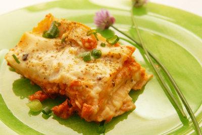 Eine Lasagne ist sehr lecker!