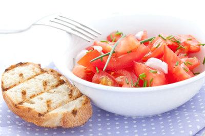 Der Salat lässt sich gut vorbereiten.