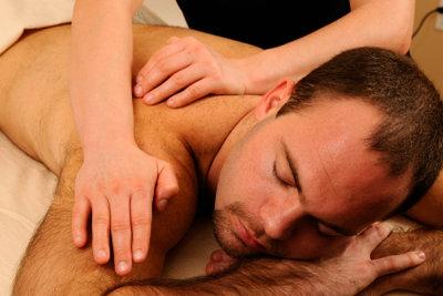 Eine Massage gefällt auch Männern.