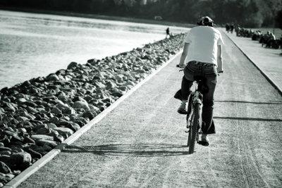 Radfahren tut der Gesundheit gut.