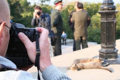 Als Kriegsfotograf eindrucksvolle Bilder machen