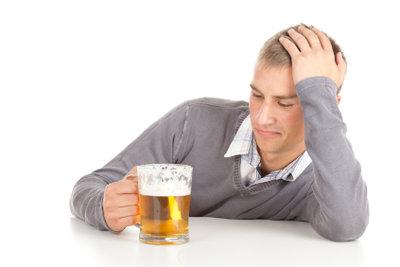 Warmes Bier kann bei Erkältung helfen.