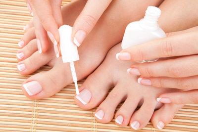 Gesunde Fußnägel ohne Fußnagelentzündung - so geht's