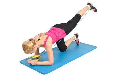 Therabänder sind flexibel einsetzbar.