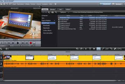 Mit Studio-Software kann man Köpfe in Videos einfügen.