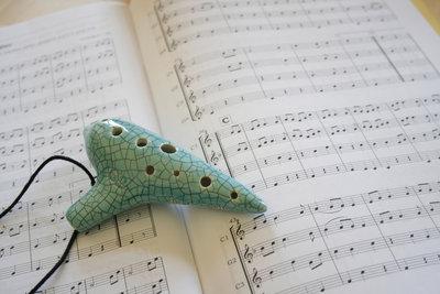 Die Ocarina ist ein traditionelles Instrument.