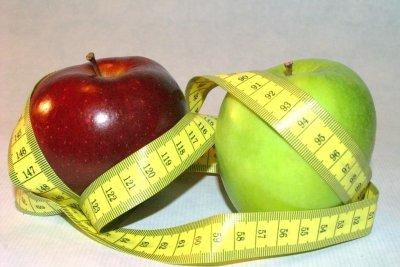 Obst macht schlank.