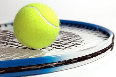 Tennis mit Drive und Slice