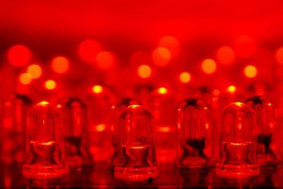 Bei Fehlern leuchtet die Konsole rot.