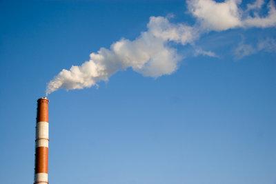 Heizen mit Gas verursacht CO2.