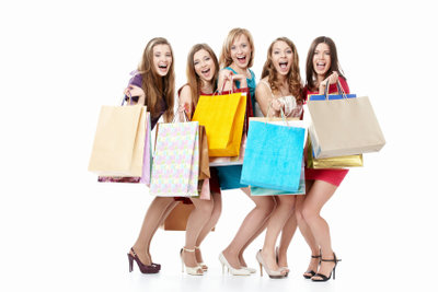 Machen Sie sich für's Einkaufen bereit.