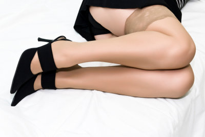 Gesunde Beine mithilfe von Kompressionsstrümpfen.