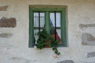 Streichen Sie Fenster nur mit Fensterlack.