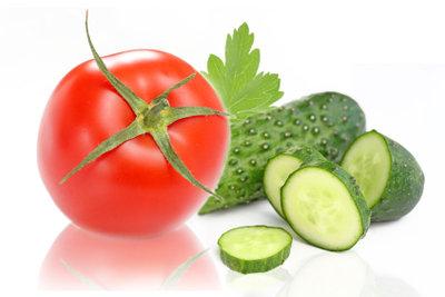 Obst und Gemüse für den Diätplan