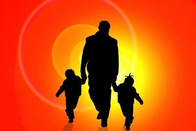 Auch der Vater prägt das Kind.