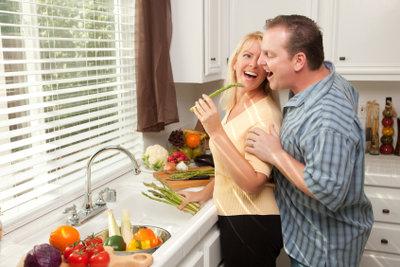 In der Küche die Ecken ausnutzen.