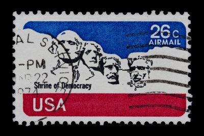 Schöne Briefmarke aus den Staaten