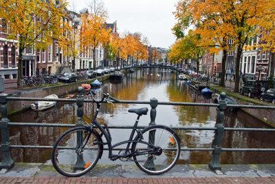 Das Fahrrad abschließen schützt vor Diebstahl.