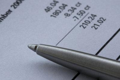 Erst die Unterschrift macht Rechnungen perfekt.