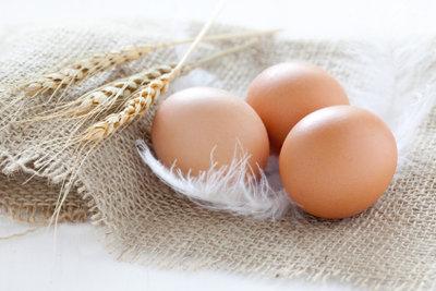 Verwenden Sie nur eindeutig frische Eier.