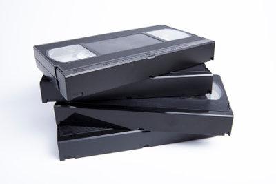 Mittlerweile haben VHS-Kassetten vielfach ausgedient.