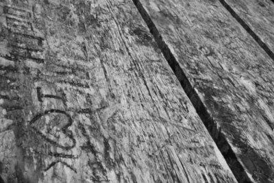 Eine Eichenholzplatte hält einiges aus.