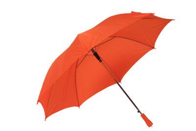 Ausgefallene Regenschirme können Sie einfach designen.