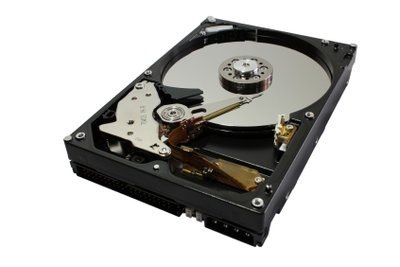Eine Festplatte kann einfach partitioniert werden.