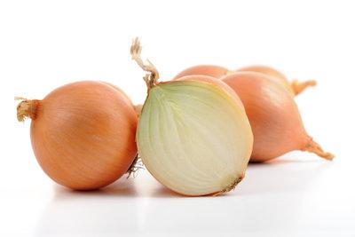 Steckzwiebeln müssen richtig aufbewahrt werden.