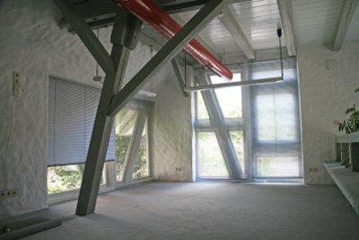Eine Atelierwohnung bietet viel Platz.