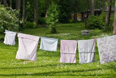 Saubere Wäsche durch korrekt gefüllte Waschmaschinen