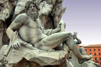 Verkleiden Sie sich mal als Zeus.