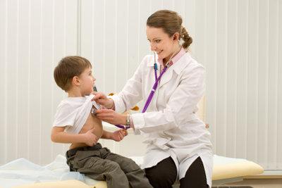 Kinderarzt ist ein schöner Beruf.