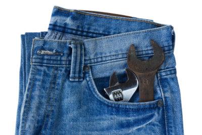 Jeans wieder tragbar gemacht