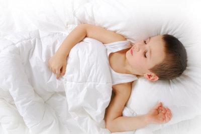 Kinder brauchen Einschlafrituale.
