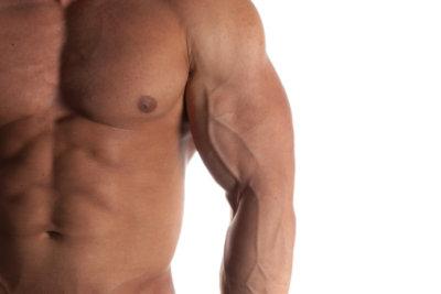 Richtige Behandlung für eine Bauchmuskelzerrung.
