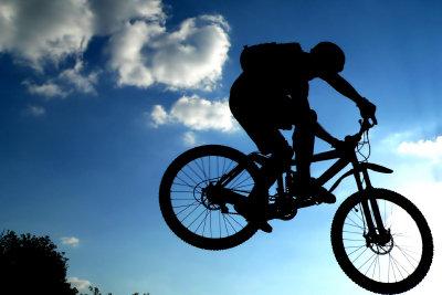 Fahrrad-Alarm sichert Ihr teures Bike.