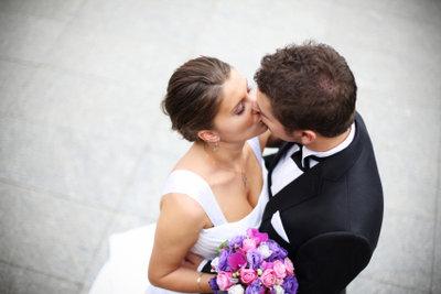 Hochzeitplaner werden anteilig am Gesamtbudget bezahlt.