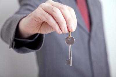 Der Schlüssel zur neuen Wohnung?