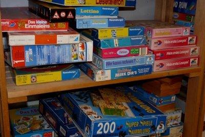 Brettspiele für Kinder sind unterhaltsam.