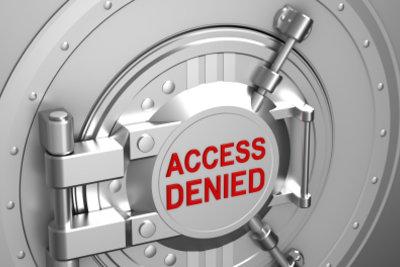 Ohne Passwort wird der Zugriff verweigert.