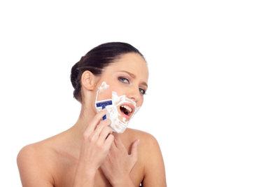 Eine Nassrasur ist nicht immer befriedigend.