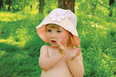 Klatschen macht Kindern Spaß.
