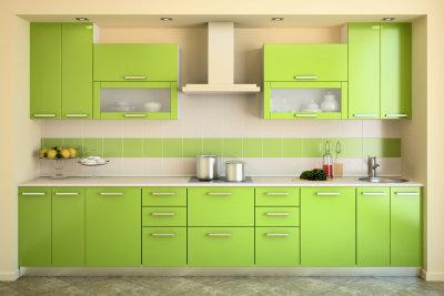 Küchenfronten mit Farbe auffrischen