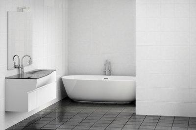 Für Ihr Badezimmer sollten Sie eine schlichte Farbe wählen.